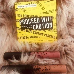 ⚠️Colourpop x Shayla Caution 3pc. Lip Bundle Set⚠️